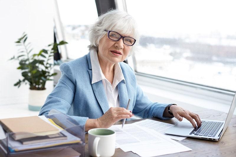 indépendante pense à sa retraite