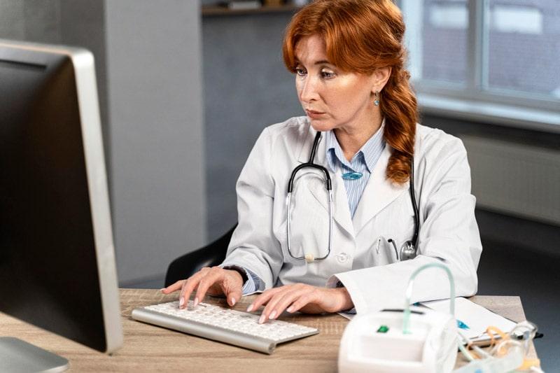 médecine en téléconsultation